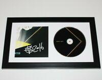 DJ BASSNECTAR HAND SIGNED FRAMED 'UNLIMITED' CD INSERT w/COA ALBUM LORIN ASHTON