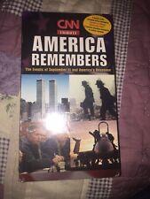 CNN America Remembers September 11Th New Sealed Vhs Tape 911