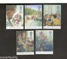 Great Britain SC#1771-75 Enid Blyton Books: Noddy, Faraway Tree MNH stamps