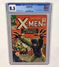 X-MEN #14 CGC 8.5 KEY! (1st Sentinels appearance!) 1965 Marvel Comics