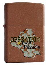 Zippo Lighter ● Operation Iraqi Freedom ● New OVP ● A1010