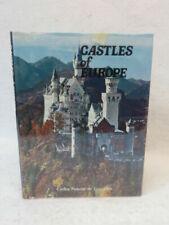Carlos Paluzie de Lescazes CASTLES OF EUROPE Crescent Books c. 1982 HC/DJ