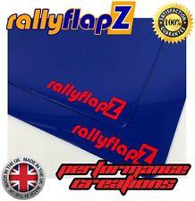 Mudflaps para caber Ford Focus Rs Mk2 (09-11) rallyflapz Barro Solapas Azul 3 Mm De Pvc