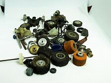 Vintage 1/24 and 1/32 Lot of Parts Wheels, Pickups, Gears, ETC. Used
