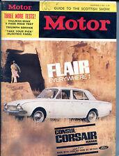 The Motor Magazine November 6 1963 Consul Corsair Range VGEX 121915jhe