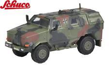 "Schuco H0 452624300 Dingo I Tout le véhicule de protection, BW camo ""BW"" 1:87"