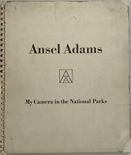 ADAMS Ansel, My Camera in the National Parks. 1950. I Edition. SIGNED