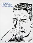Raymond Pettibon: Untitled (I See Before Me...), 2002. Signed, Fine Art Print