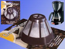 Kaffeefilter, Kaffee Dauer Filter, Filterpapier Filtertüten Ersatz