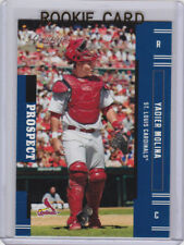 YADIER MOLINA Prospect CARDINALS ROOKIE CARD Playoff Prestige Baseball RC!