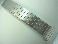 "17.5mm-22mm 11/16""-7/8"" Stainl Strght Expansion Vintage Speidel Watch Band Mens"