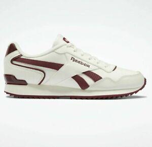 Reebok Classics Royal Glide Trainers Chalk / Burgundy Shoes