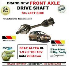 FOR SEAT ALTEA XL 1.9TDi 2.0TDI 16V 2004-on BRAND NEW FRONT AXLE LEFT DRIVESHAFT