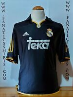Real Madrid 1999-2000 Away Camiseta Futbol Adidas Shirt Trikot Maglia