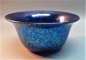 Genuine LOETZ BOHEMIAN ART NOUVEAU Glass Papillon Bowl  c. 1900  antique Austria