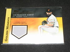BRIAN WILSON GIANT 2012 GOLDEN MOMENTS CERTIFIED AUTHENTIC GAME USED JERSEY CARD