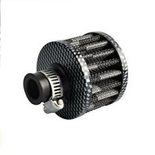 Air filter 12MM Carbon Oil Air Intake Crankcase Vent Valve Cover Breather Filter