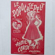 Partition ANNIE CORDY Le popocatepelt  CASTEL & CASTI