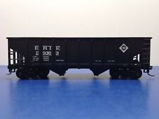 "HO Scale ""Erie"" 29303 2-bay Open Hopper Freight Train Car"