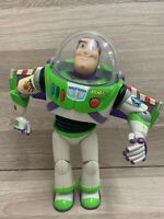 Disney Store Toy Story Buzz Lightyear Talking Figure. Lights & Sounds! Thinkway
