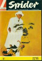 Spider Nr.11 von 1968 - TOP Z0-1 ORIGINAL LEHNING KRIMI ABENTEUER COMICHEFT