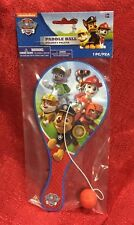 Nickelodeon Paw Patrol PADDLE BALL Game Toy 9 Inch Brand New