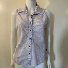 The North Face Sleeveless Purple Lavender Shirt Size M