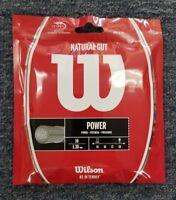 Wilson Natural Gut Power 16 Gauge 1.30mm Tennis String