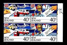 NEW ZEALAND - NUOVA ZELANDA - 1987 - Giornata della Posta in coppia - mnh