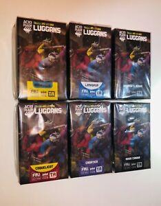 *USA* Acid Rain Luggans x6 COMPLETE SET 1/18 Viva La Loca 3.75 Action Figure LOT