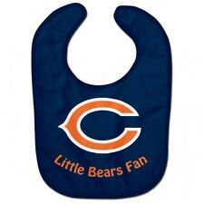 NFL Chicago Bears Baby Infant ALL PRO BIB LITTLE FAN Blue