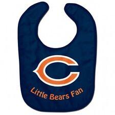 NFL Chicago Bears Baby Infant ALL PRO BIB Little Fan Color Blue