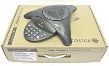 Brand New Polycom SoundStation 2 2200-15100 Basic Conference Phone Station