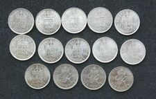 1937 Year of Issue George VI Sixpence Coins (1936-1952)