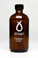 Dropi – Pure Icelandic Extra Virgin Cod Liver Oil Liquid (220ml) - NO BOX! SALE
