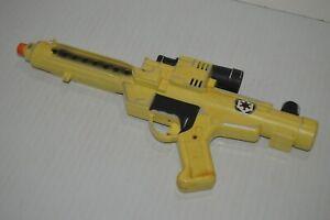 Vintage 1996 Hasbro Star Wars Stormtrooper Blaster Gun Black And Yellow Cosplay