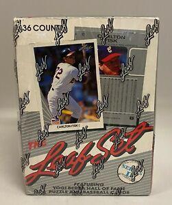 1990 Leaf Series 2 Baseball Wax Box Unopened Sealed - Frank Thomas RC YR