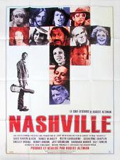 Affiche Pliée 120x160cm NASHVILLE (1975) Robert Altman - Ned Beatty R2011 TBE