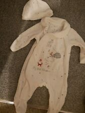 Christmas Baby Outfit Sleepsuit 1 month