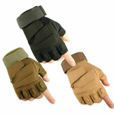 Tactical Half-Finger Gloves - Motorcycle Motorbike Riding Moto Driving Dirt Bike