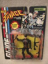 Vinatge GI Joe Sgt Savage Jet Pack General Blitz - New In Package