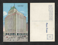 1950s HOTEL MANGER AT NORTH STATION BOSTON MASS POSTCARD