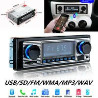 Bluetooth Vintage Car Radio MP3-Player Stereo USB AUX Best Classic Stereo Audio