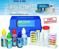 Poolmaster 22260 5 Way Pool Test Kit DPD Water Tablets And Case Basic Collection
