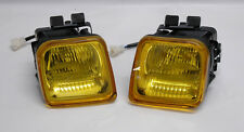 Yellow Amber JDM Front Fog Lights for Honda Civic 96-98 2/3/4dr