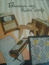 STAR BOOK NO. 78 TELEVISION AND RADIO SCARFS CROCHET BOOK AMERICAN THREAD CO.