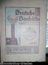 19125 Deutsche Bauhütte 1913 Komplett Zeitschrift Zweige praktischer Baukunst