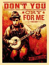 OH SUSANNAH SUSANNA Neil Young Americana shepard fairey obey giant