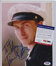 TIM ROTH SIGNED AUTOGRAPH AUTO 8X10 PSA DNA CERTIFIED