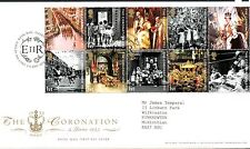 GB 2003 FDC Coronation 50th Anniv Special Handstamp Bureau Edinburgh stamps